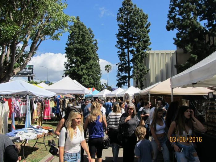 2. Melrose Trading Post,  7850 Melrose Avenue, Los Angeles