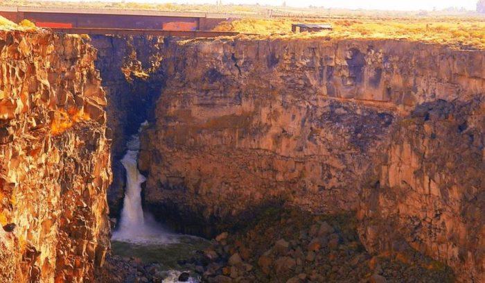 8. Malad Gorge Falls, Hagerman