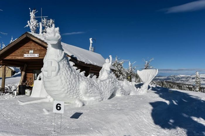 5. Keep it cool at the McCall Winter Carnival.