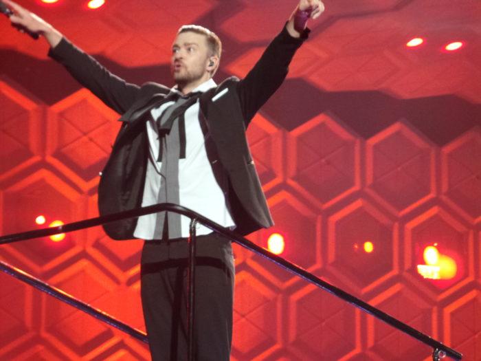9. Justin Timberlake