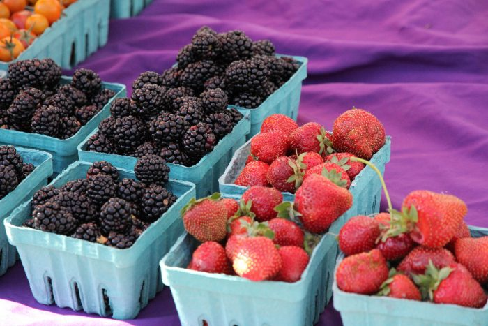 7. Because... the food, which includes our local berries.