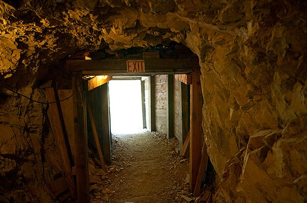 Idaho historic mine tours