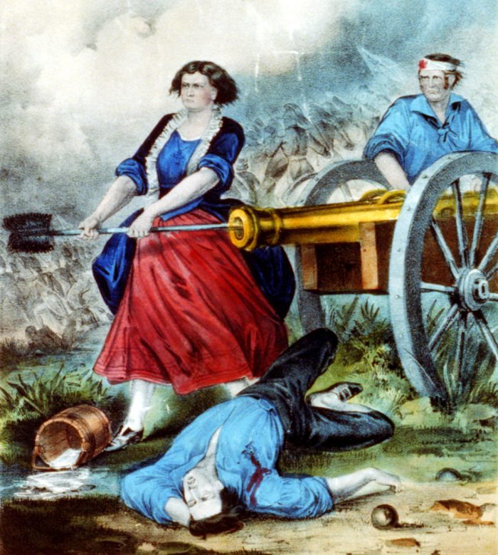 6. The legend of Molly Pitcher got its start here, at the Battle of Monmouth.