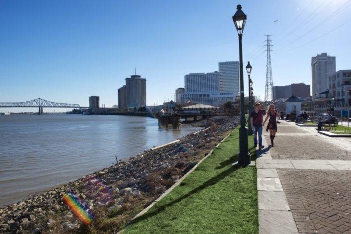 5) Moonwalk New Orleans