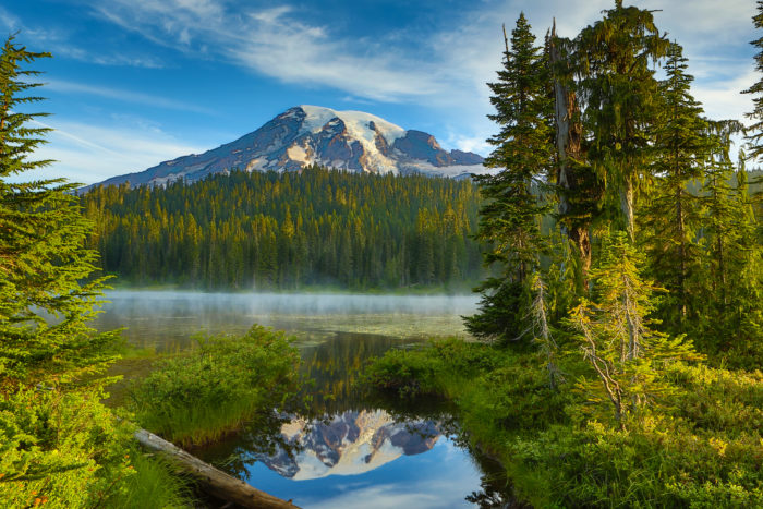 1. Mount Rainier National Park