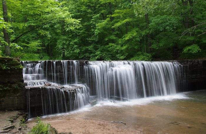 1. Hidden Falls are definitely the highlight of Nerstrand Big Woods State Park, and offer a tranquil place to relax and enjoy Southern MN's true beauty.
