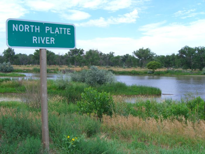 9. After taking a turn to the north, you'll drive by the lovely Kiowa State Wildlife Management Area, a favorite spot for birdwatchers, before crossing the North Platte River.