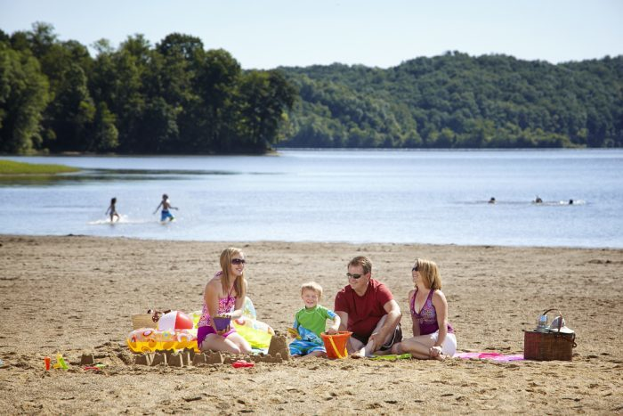 2. Salt Fork Lake Beach
