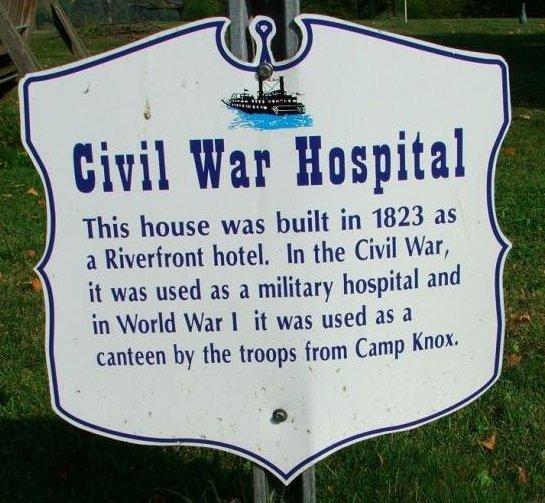 5. Military use, including a Civil War hospital