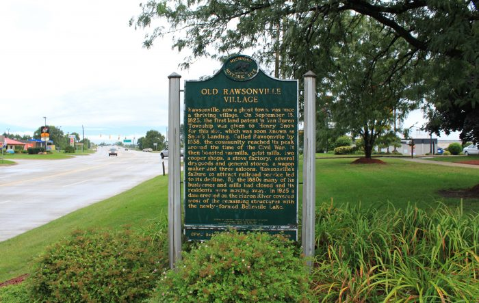 Old_Rawsonville_Village_historical_marker