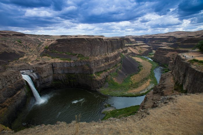 9. The always breathtaking view of Palouse Falls from Palouse Falls State Park.
