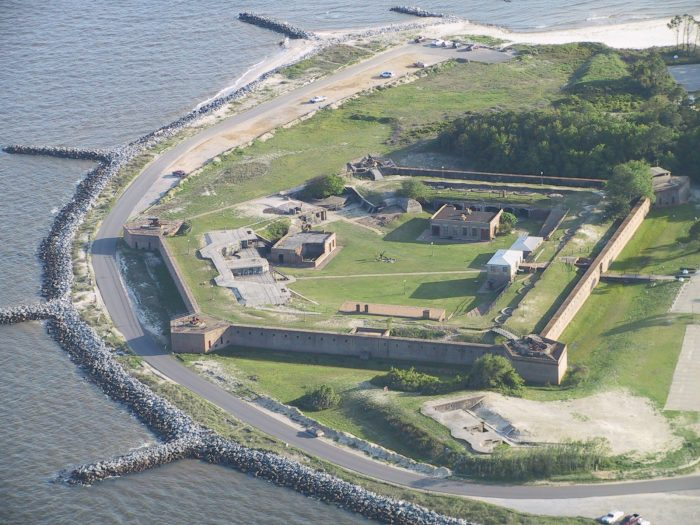 If American history excites you, you'll want to visit Fort Gaines. Fort Gaines was one of the main sites in the Battle of Mobile Bay. This historic landmark is an incredible place to see up close.