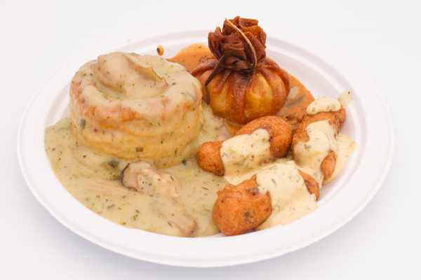 Don't miss the Crawfish sack plate!