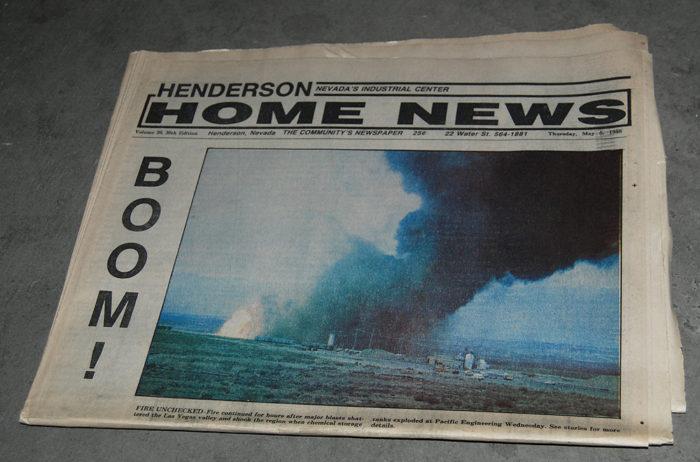 Pepcon explosion