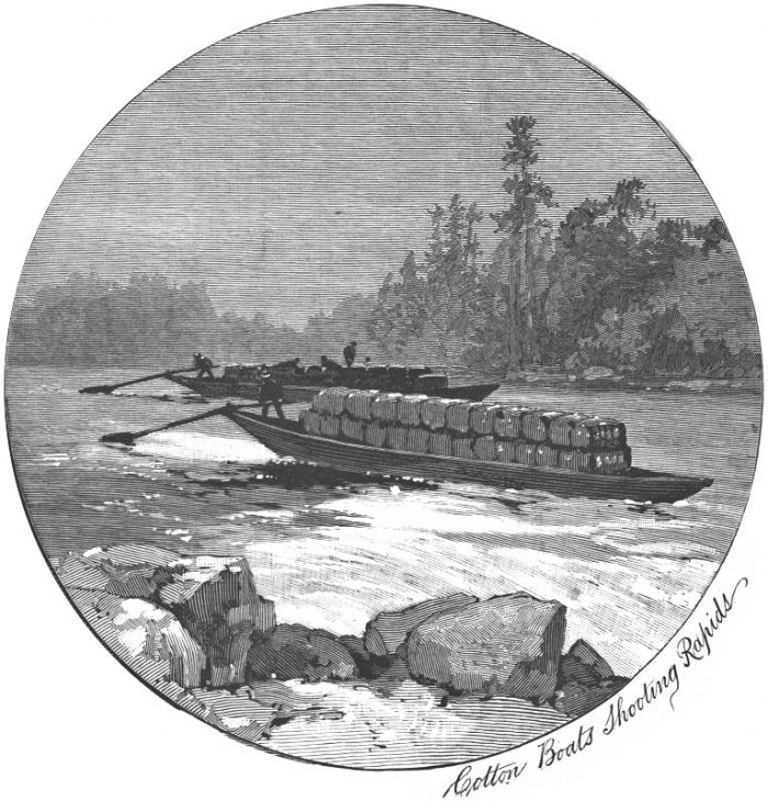 PetersburgGeorgiaPoleBoat1887