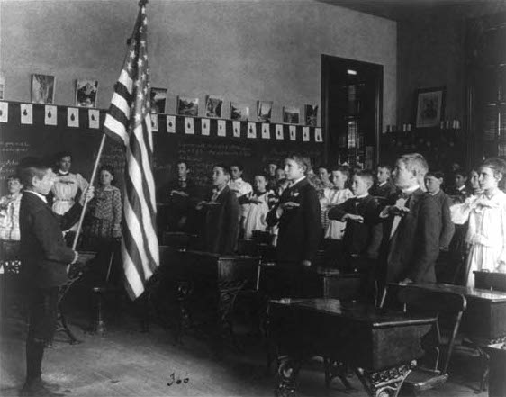8. The Pledge of Allegiance was first recited in New Jersey.