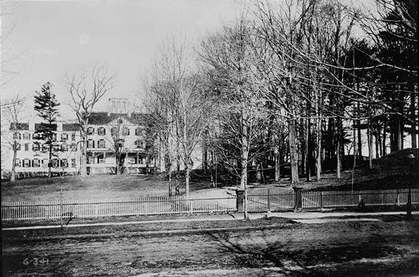 Proprietary House in the late 1800s.