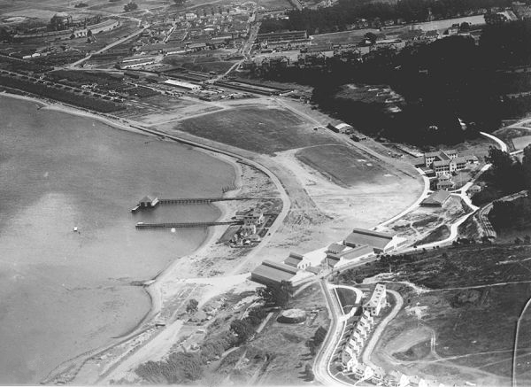 9. Aerial Shot of Crissy Field: 1921 & Now