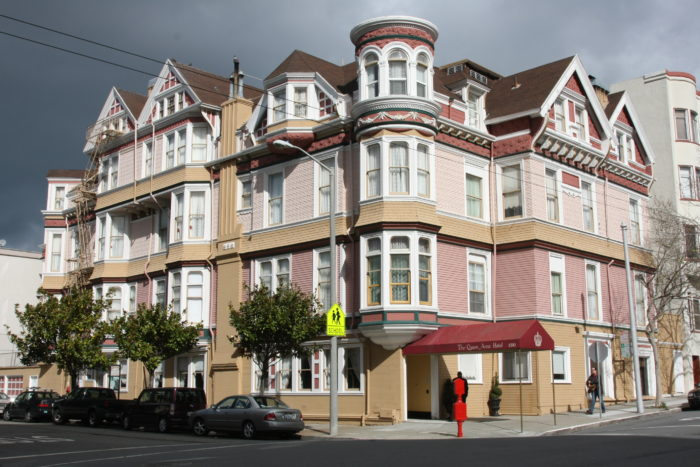 Queen Anne Hotel San Francisco Haunted