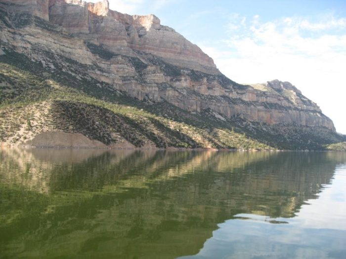 Reflections_on_Bighorn_Lake