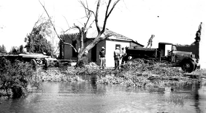 Flooding took place from 1935 to 1938, and residents were paid to relocate.