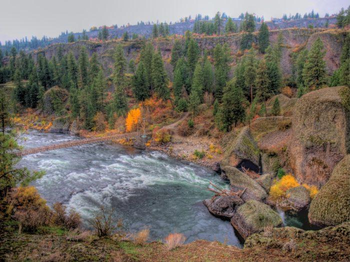 10. Riverside State Park, Little Spokane River