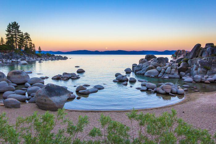 7. Sand Harbor, Lake Tahoe