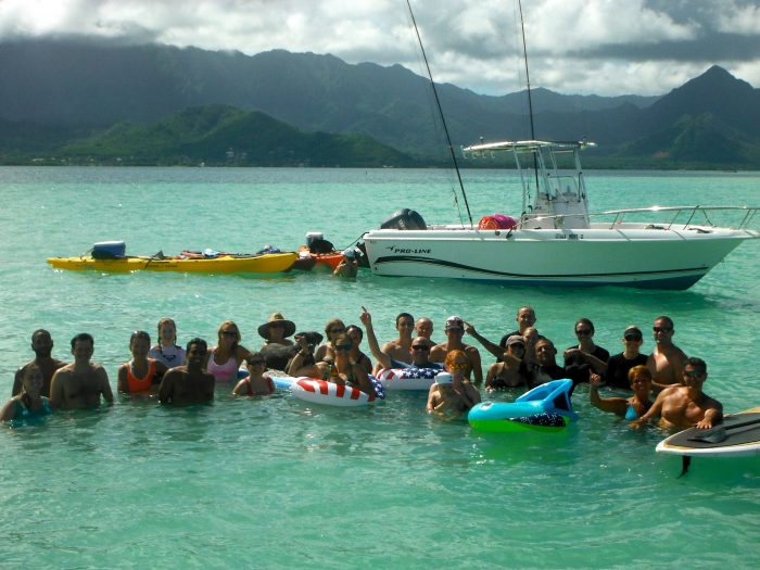 Don't forget your tubes and floaties - just in case you are at the sandbar during high tide and you want to relax.