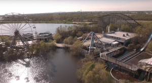 What This Drone Footage Captured At This Abandoned Louisiana Amusement Park Is Truly Grim