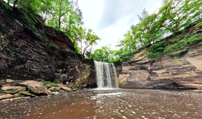 6. Lower Falls, Minneopa State Park