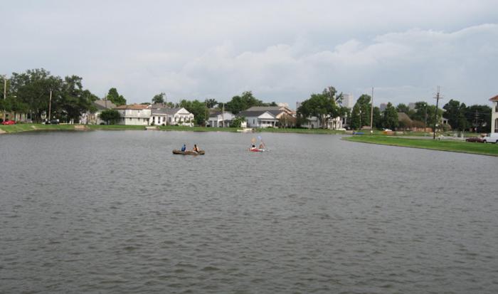 3) Kayaking in Bayou St. John