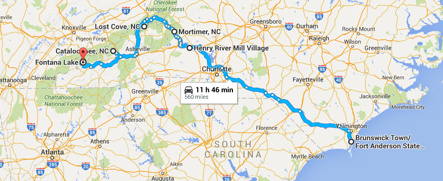 a haunting north carolina ghost town road trip