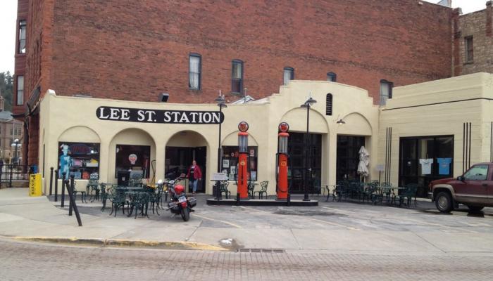 1. Lee Street Station Cafe - Deadwood