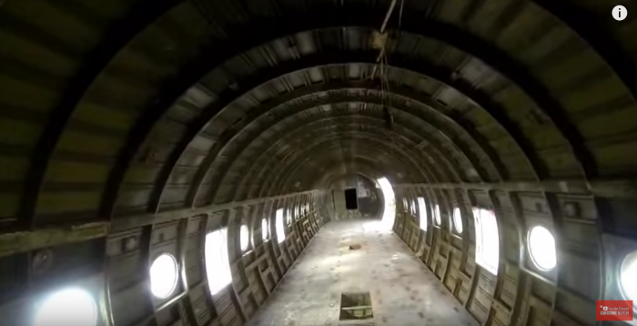 Walking through the cabins and hidden nooks of these airplanes is an eerie journey.