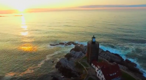 The Golden Sunrise Over This Historic Lighthouse In Maine Is Unbelievably Beautiful