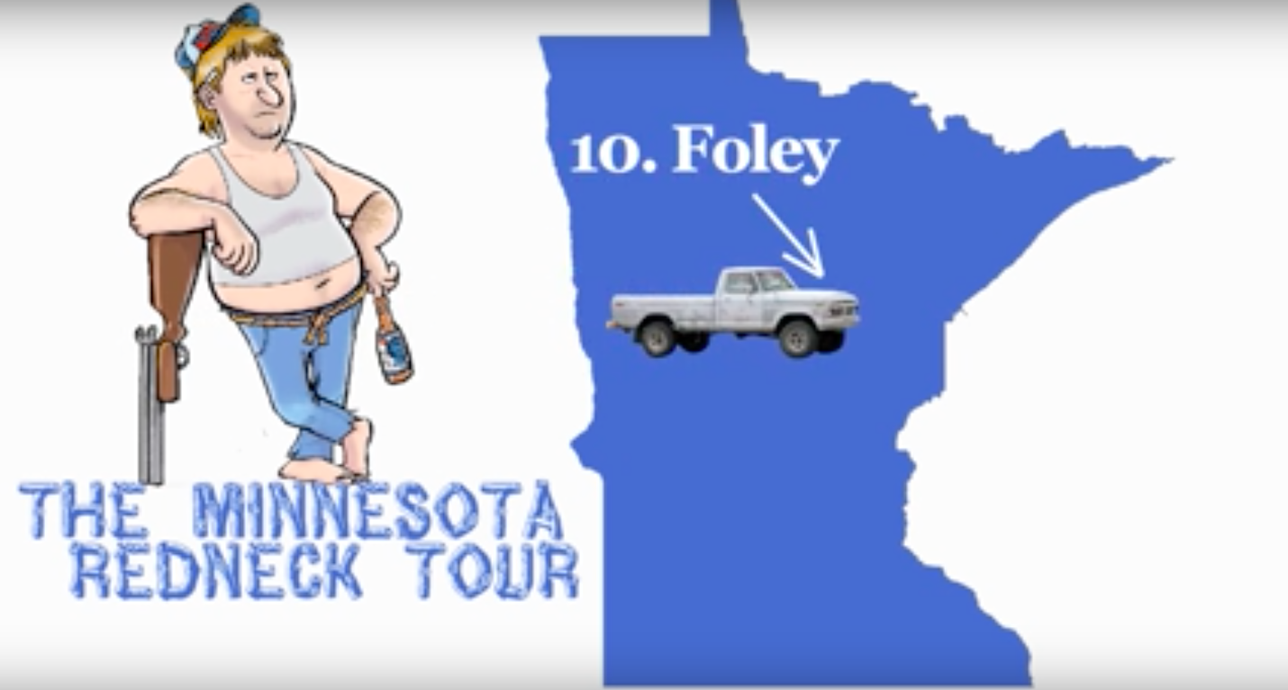 This Funny Video Shows The 10 Most Redneck Towns In Minnesota