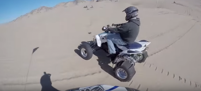 Riders love Little Sahara because they can speed as fast as they'd like.