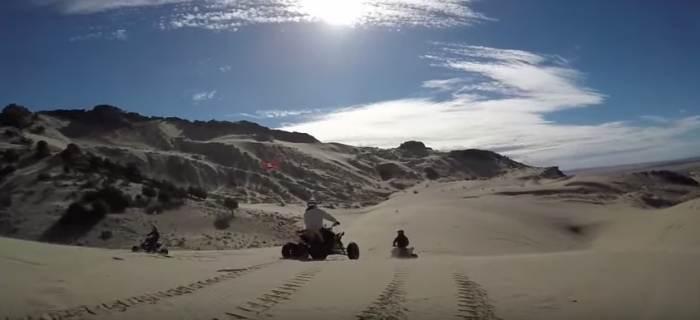 Little Sahara Sand Dunes is the perfect way to spend a sunny Utah day.