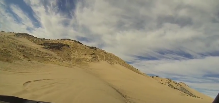 The Little Sahara Sand Dunes are located in the Sevier Desert. The area offers terrain for riders of all abilities.