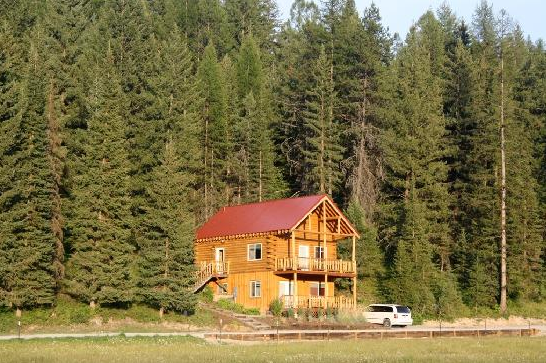 2. The Cabin at the Bar W Guest Ranch, Whitefish