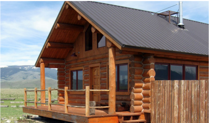 8. The Last Best Cabin, Paradise Valley