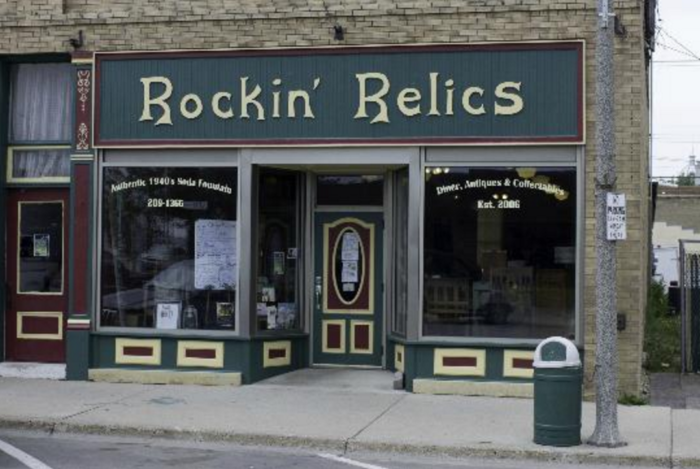 6. Rockin' Relics - Rugby