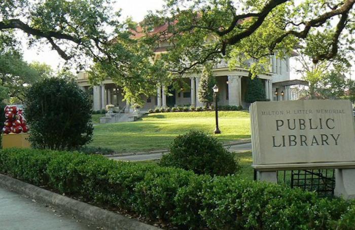 2) Milton H. Latter Memorial Library, 5120 St. Charles Ave., New Orleans