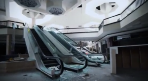 What This Video Captured Inside This Abandoned Mall In Ohio Is Truly Grim