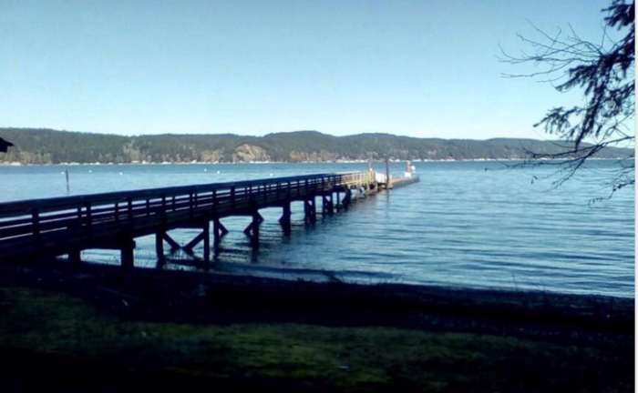 7.  Twanoh State Park at Hood Canal is considered one of the warmest swimming spots in the state.