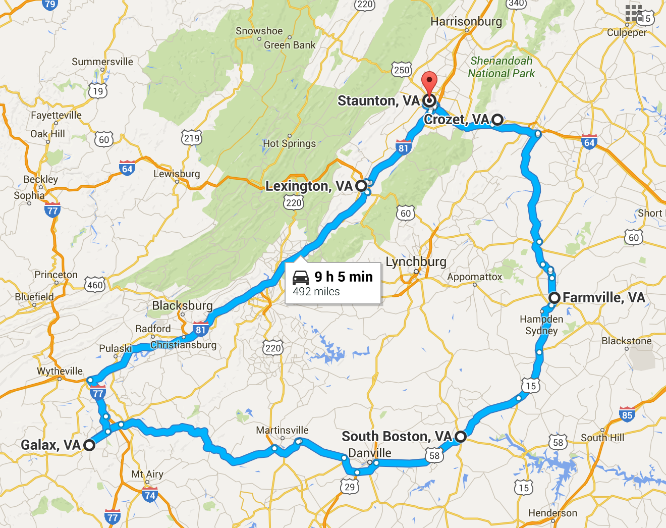 A Picturesque Road Trip Through 6 Small Towns In Virginia
