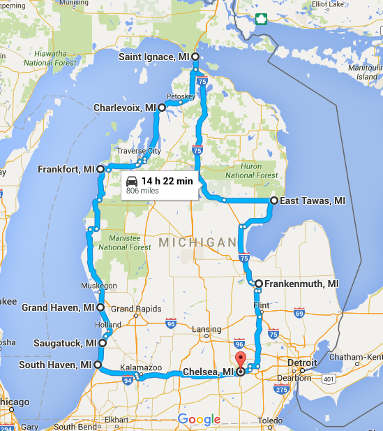 This Road Trip Showcases 9 Of Michigan S Best Small Towns