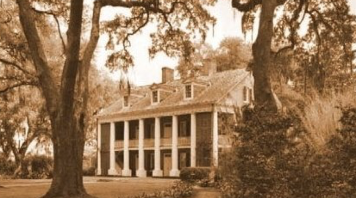 During the Civil War, Mary Moore stayed at the home with her sister in law and three of her house-servant slaves.