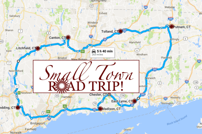 You can visit every county in just under 6 hours of drive time!