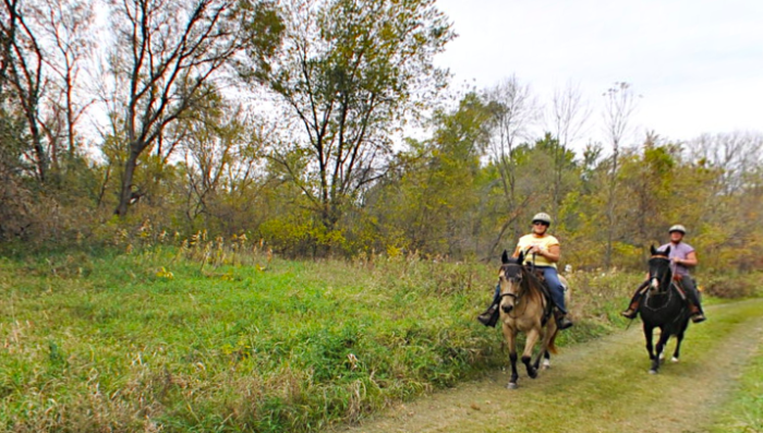 And be sure to try the Lawrence Unit horse trails.
